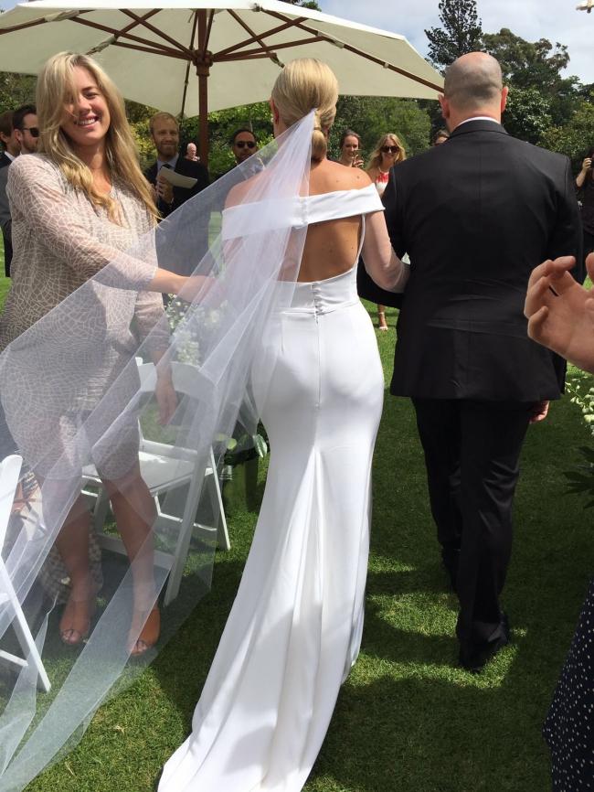 One day wedding dress