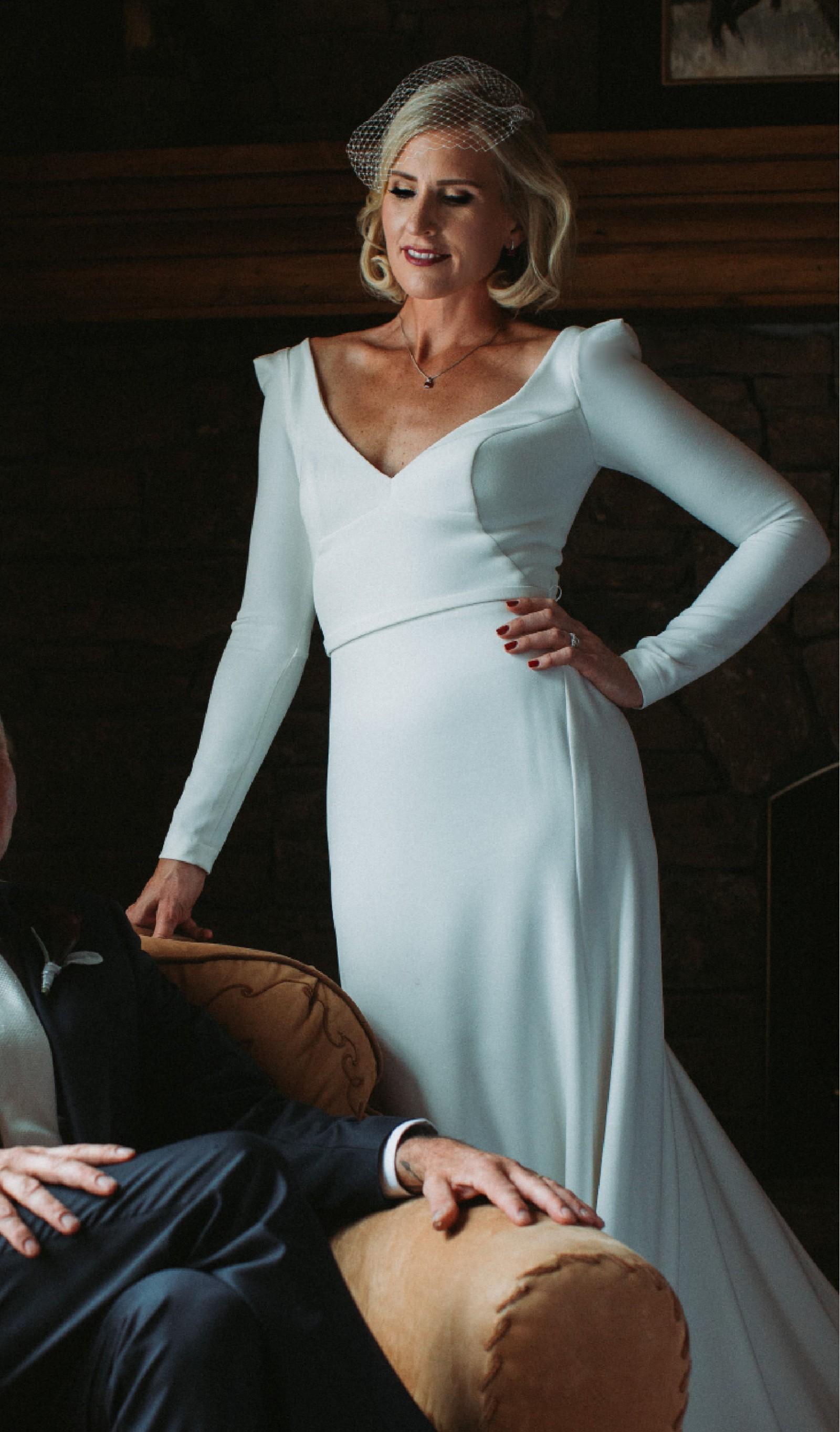 Karen Willis Holmes Aubrey Bespoke Gown - Used Wedding Dresses ...