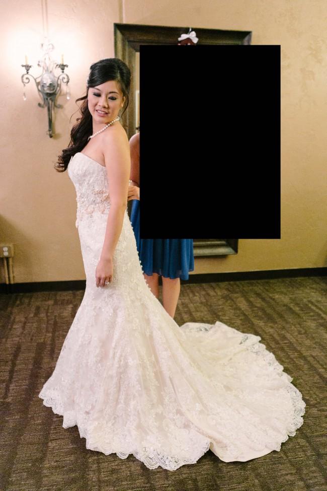Allure Bridals 8917 Used Wedding Dress on Sale 49% Off