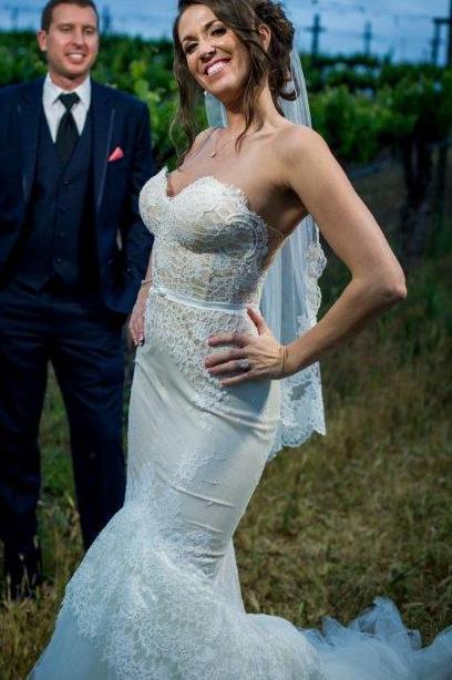 Inbal Dror VIP 12-5 Preowned Wedding Dress on Sale 52% Off