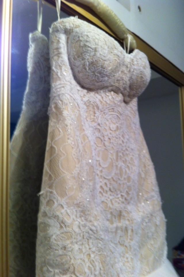 Suzanna blazevic inspired wedding dress used wedding for Suzanna blazevic wedding dresses