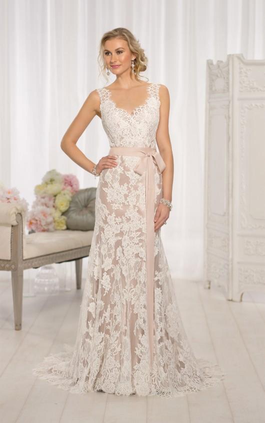 Essense of Australia Modern Vintage Wedding Dress Style D1639 ...