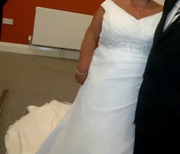 Morilee second hand wedding dress on sale 75 off for Second hand mori lee wedding dresses