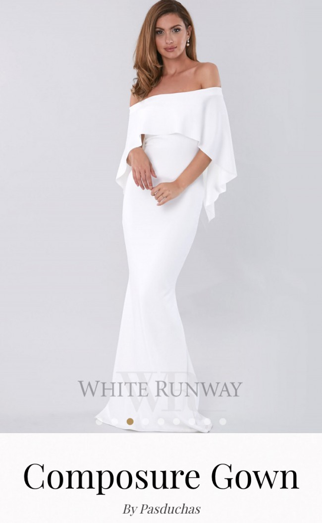 White Runway, Composure Gown