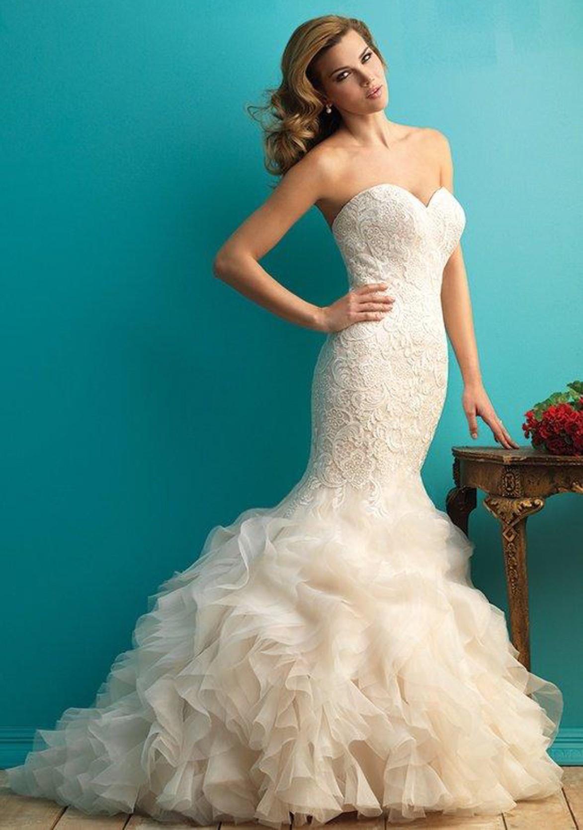 Allure Bridals 9254 - Used Wedding Dresses - Stillwhite