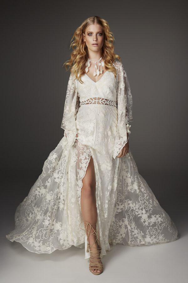 33 Rue de Seine Bohemian Inspired Wedding Gowns