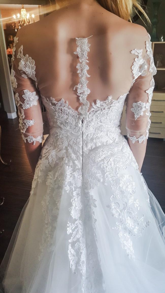 26d76cd2a6c Jocelyn A Dungca New Wedding Dress on Sale 74% Off - Stillwhite ...