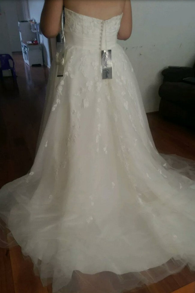 Henry Roth Harley Wedding Dress On Sale