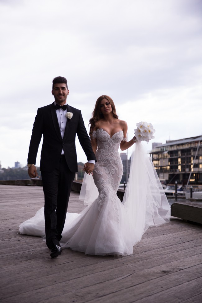 Steven khalil preowned wedding dress on sale 29 off for Steven khalil mermaid wedding dress