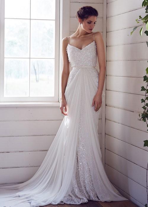 Karen Willis Holmes, Anya gown with Genivieve overlay