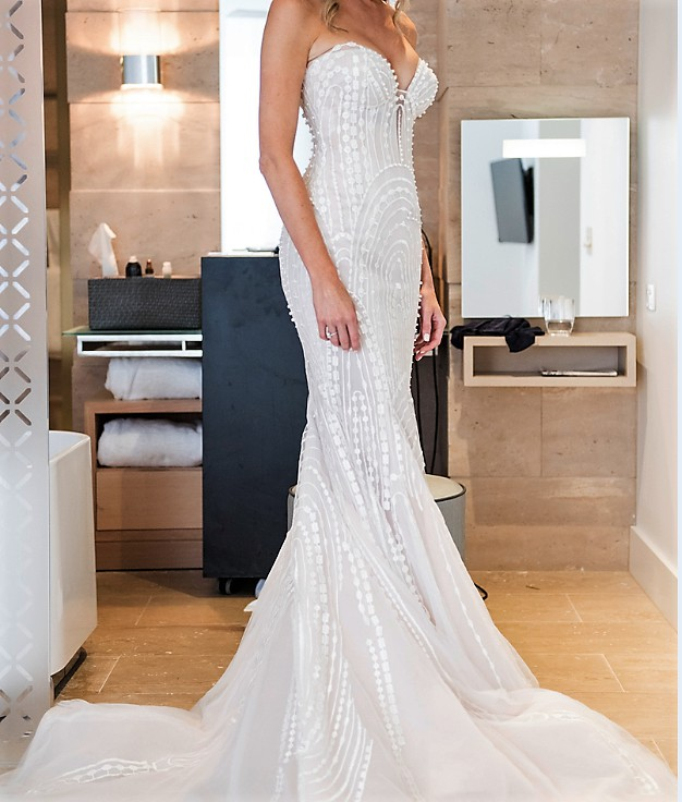 Wedding Gown Dry Cleaning Cost 88 Ideal Steven Khalil Custom Made