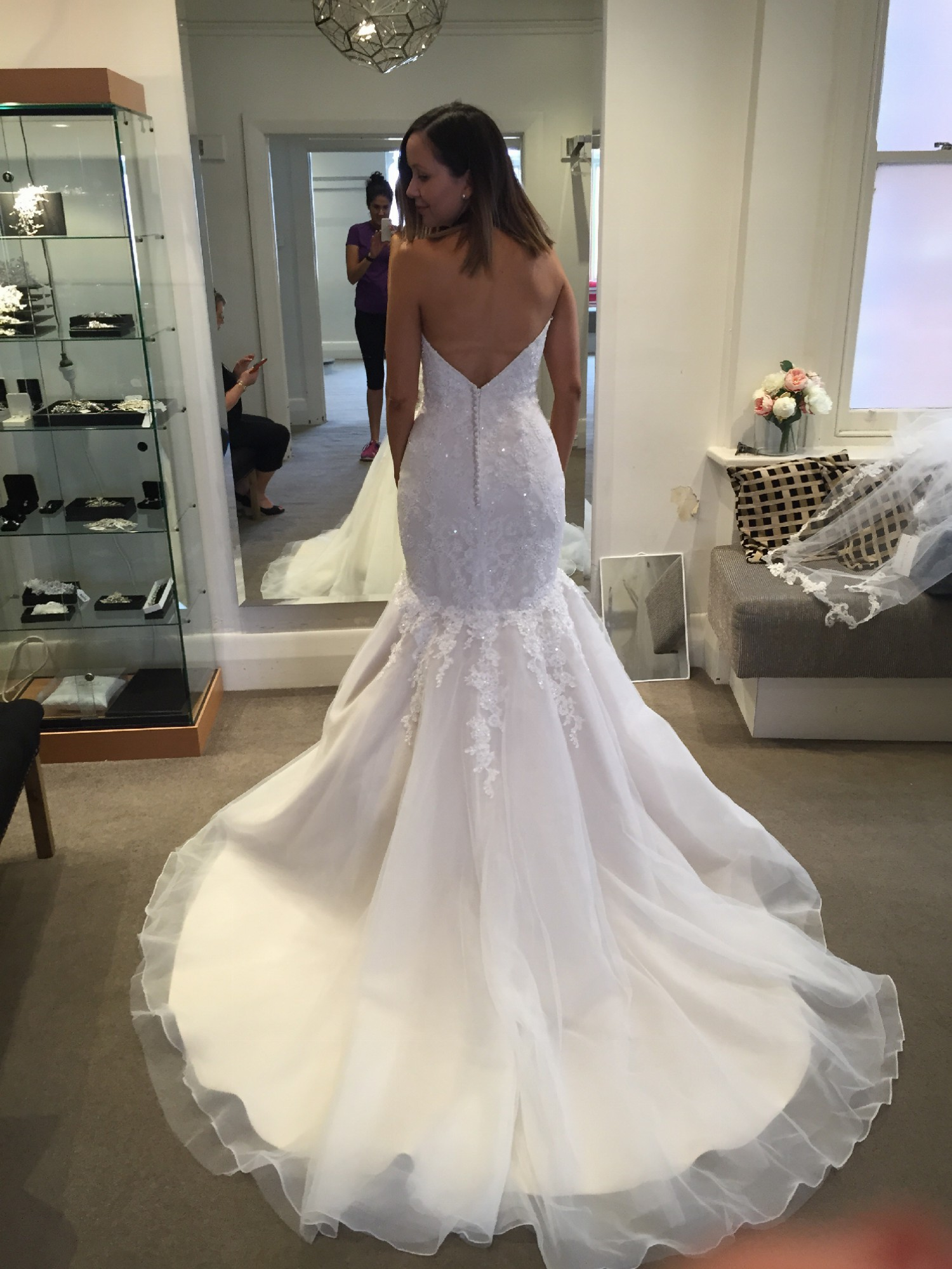 Maggie sottero miranda new wedding dress on sale for Maggie sottero wedding dress sale
