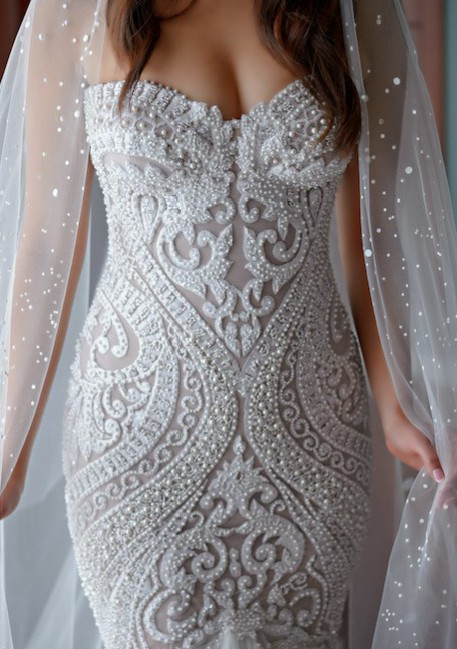 Leah da gloria custom made wedding dress on sale 35 off for Leah da gloria wedding dress cost