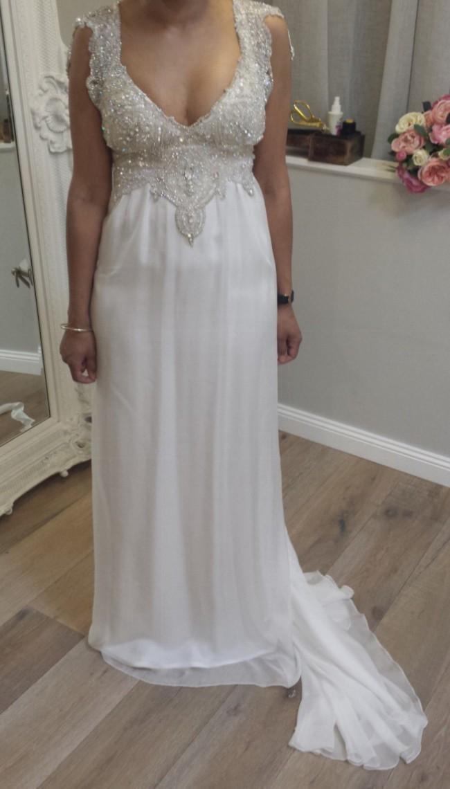 Anna campbell annabella dress used wedding dress on sale for Anna campbell wedding dress used