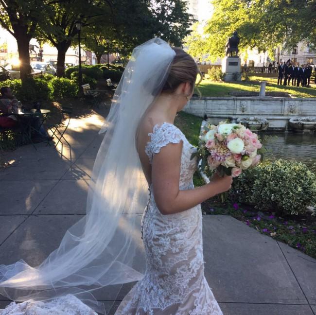 Martina Liana 694 Used Wedding Dress On Sale 60% Off