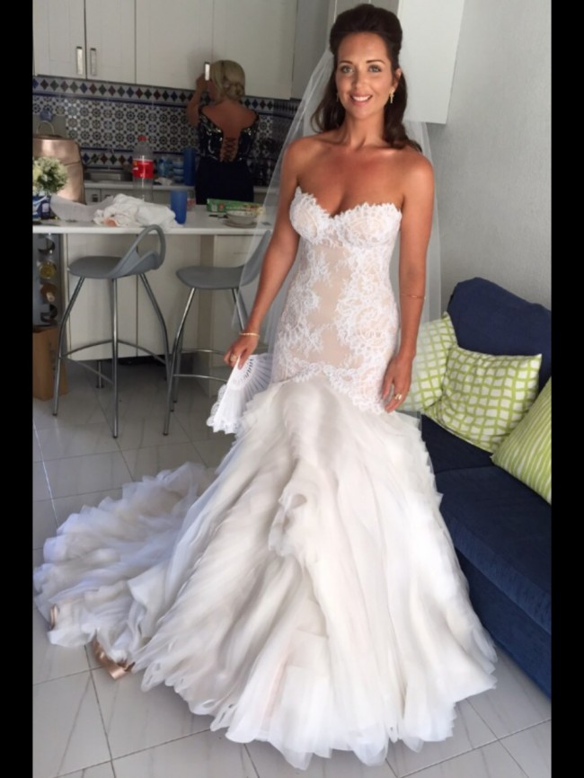 J 39 aton preowned wedding dress on sale 36 off for J aton wedding dress