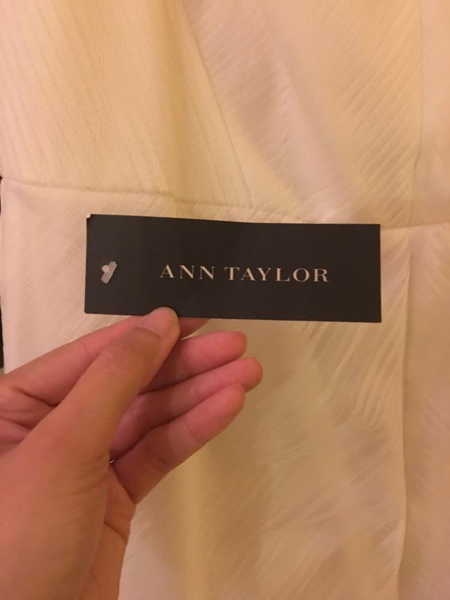 Ann Taylor, Gemstone Yoke Trumpet Gown