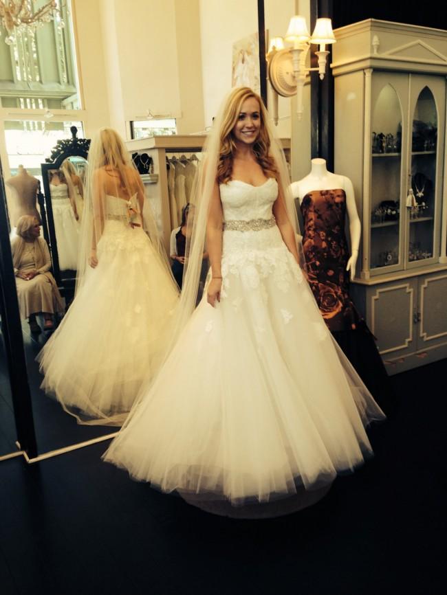 Monique Lhuillier Jade Wedding Dress On Sale 51 Off