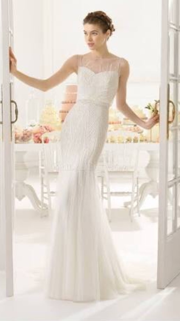 Aire barcelona aquila used wedding dress on sale for Tubo de aire barcelona