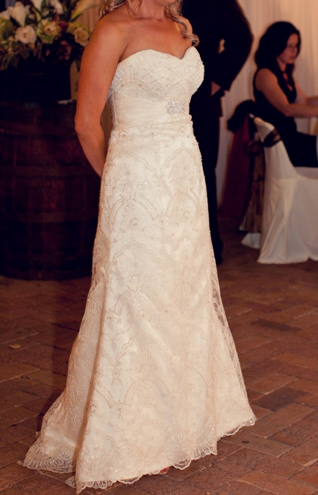 Martina liana style 294 second hand wedding dress on sale for How much are martina liana wedding dresses