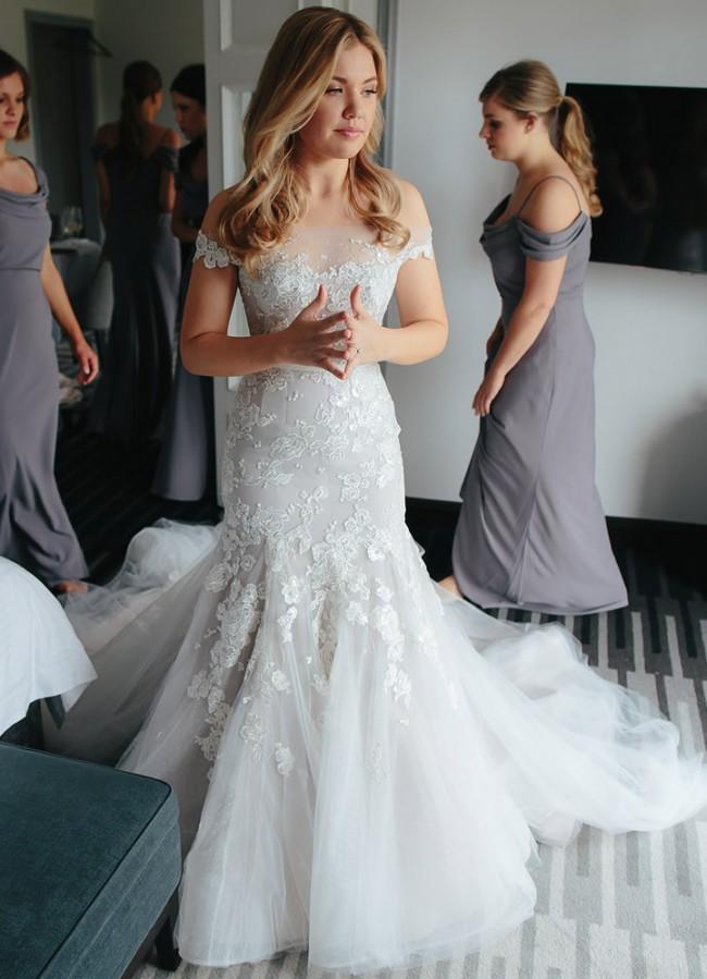 Steven Khalil Used Wedding Dress on Sale 46% Off