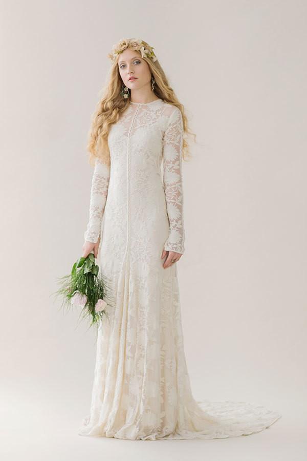 Rue de seine sample wedding dress on sale for Wedding dress cleaning utah