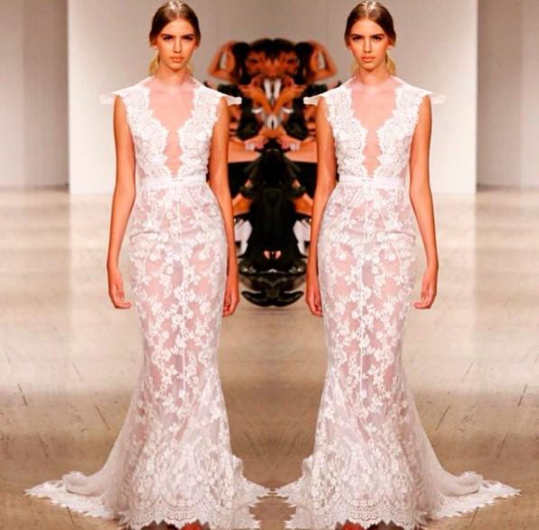 Alin Le' Kal, Lace Gown