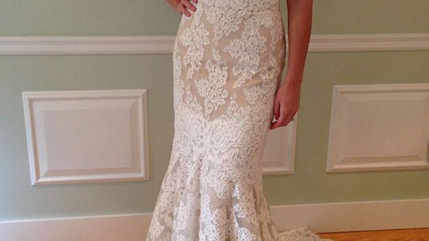Anne barge lace dress 617