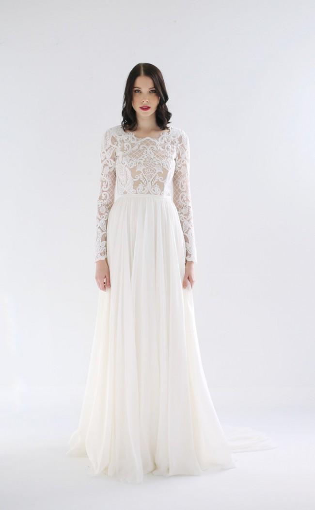 Leanne Marshall Laine Sample Wedding Dress On Sale 36 Off Stillwhite