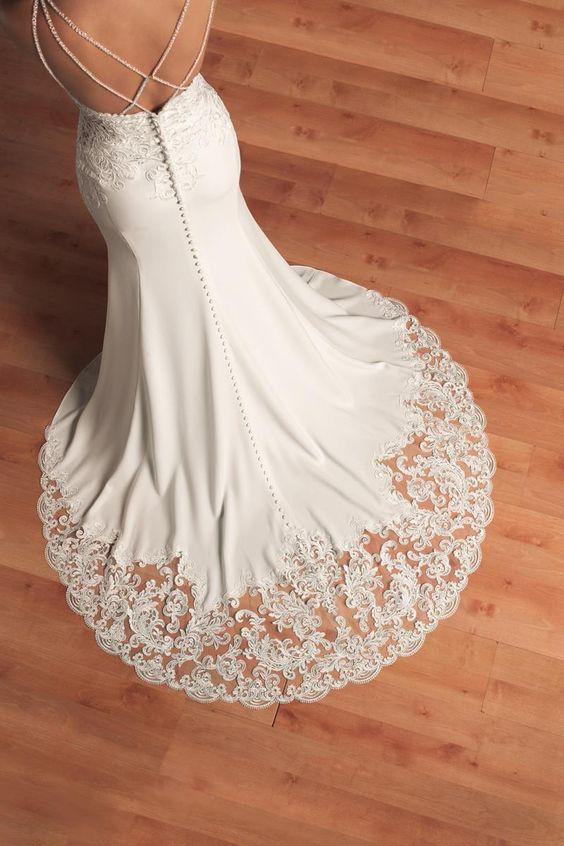 3c34e0e0b8f Stella York   6586 New Wedding Dress on Sale 33% Off - Stillwhite Canada