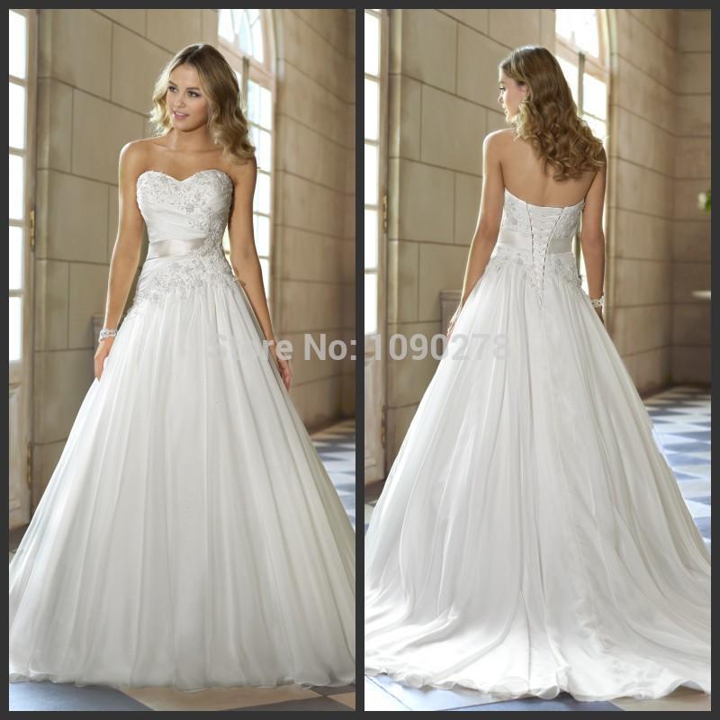 Stella York 5720 Second Hand Wedding Dress on Sale 38% Off - Stillwhite