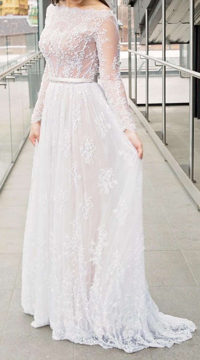 Paolo Sebastian Used Wedding Dress on Sale