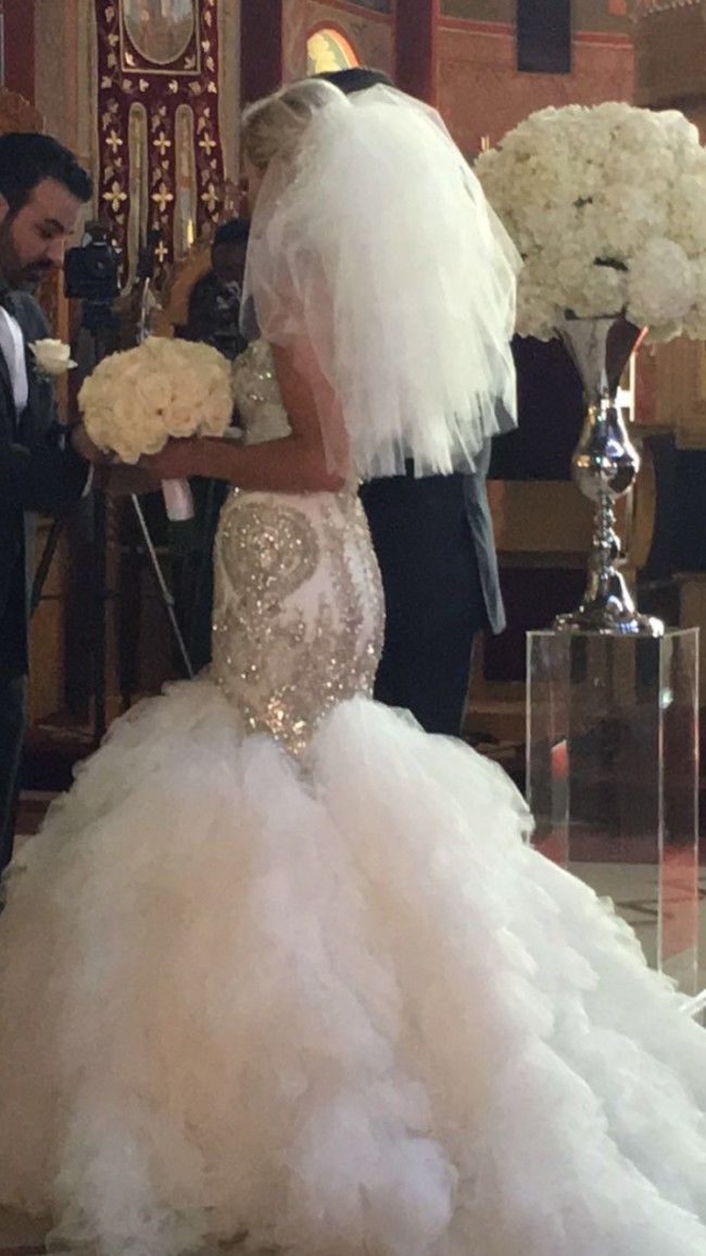 Leah da gloria custom made wedding dress on sale 50 off for Leah da gloria wedding dress cost
