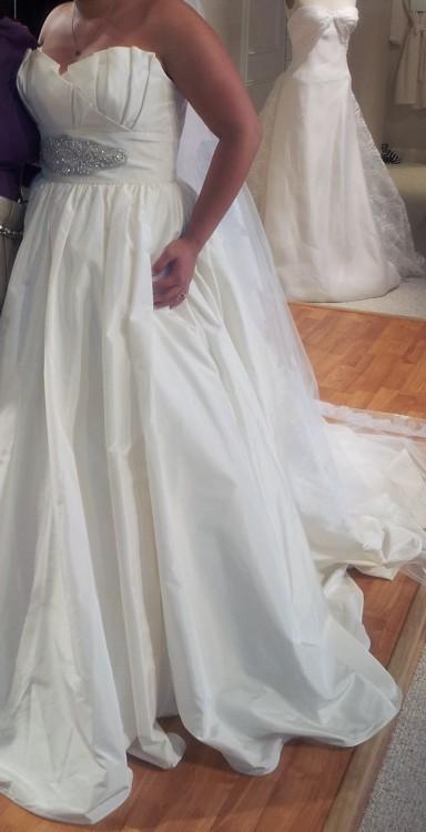 Watters houston 6036b sample wedding dress on sale for Wedding dress sample sale houston