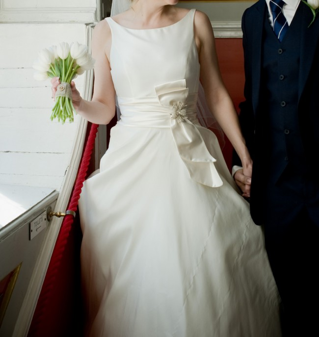 Second Hand Wedding Dresses: Sassi Holford Beatrice Second Hand Wedding Dress On Sale