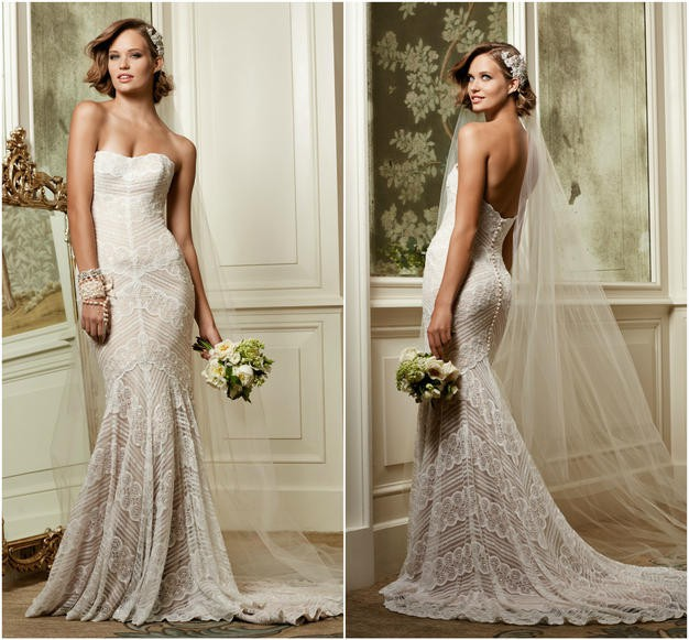 Watters Pippin Second Hand Wedding Dress On Sale 57% Off