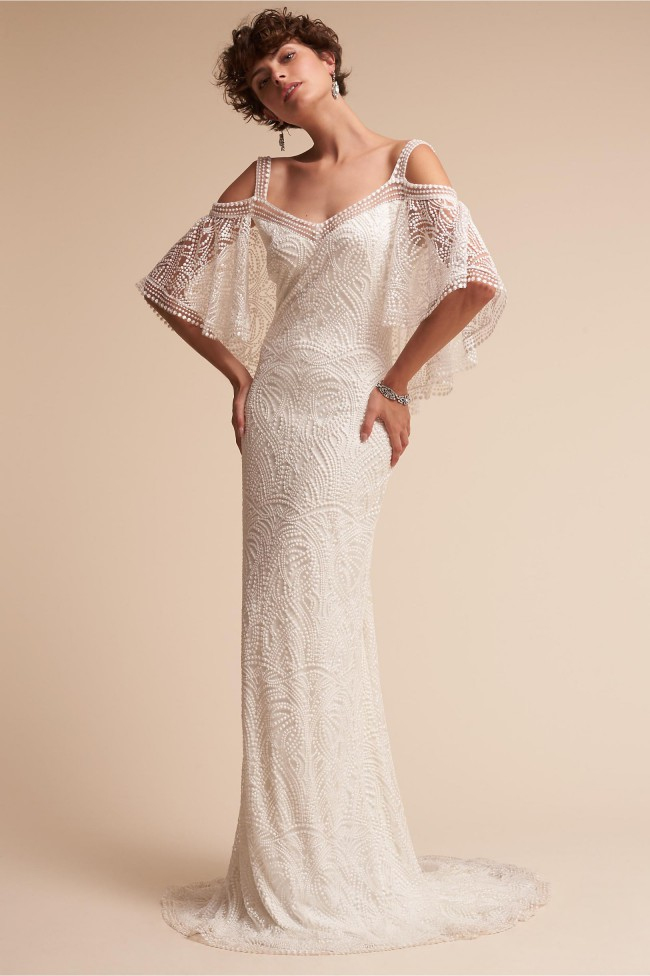 Tadashi Shoji BHLD Kenna - Size 8 and 10 New Wedding Dress on Sale ...