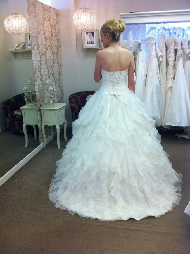 Morilee mori lee second hand wedding dress on sale 73 off for Second hand mori lee wedding dresses