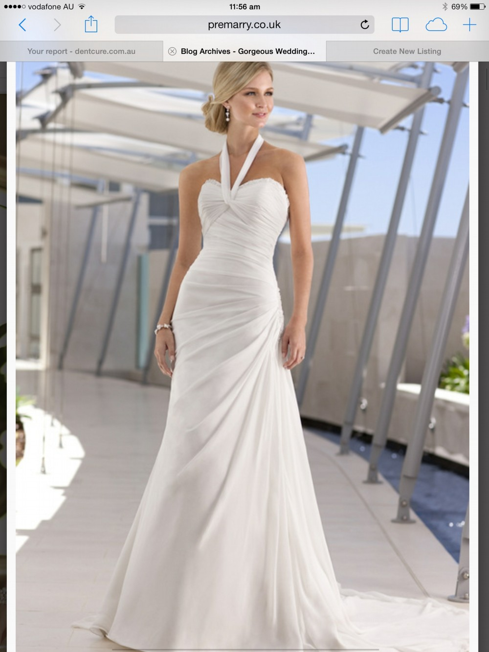 Stella york grace second hand wedding dress on sale 44 off for Second hand wedding dresses san diego