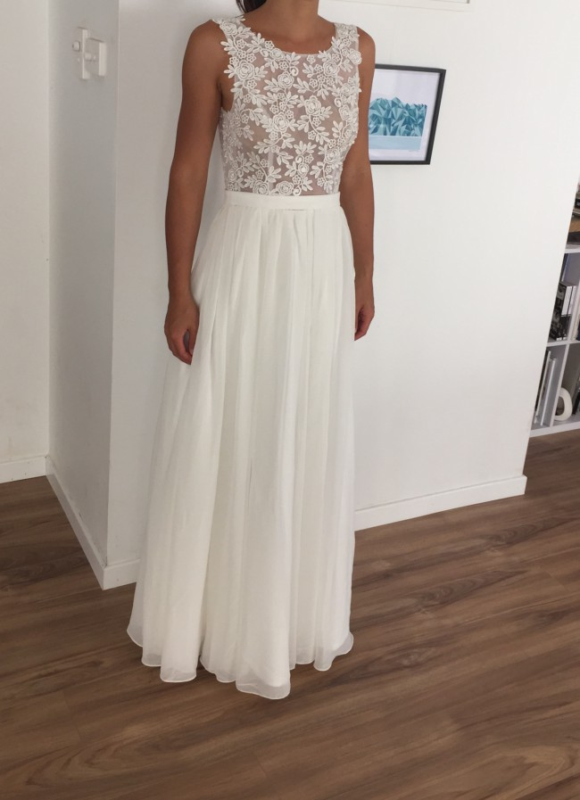 Made with love louise new wedding dress on sale 15 off for Made with love wedding dresses