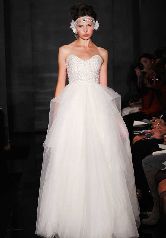 Reem Acra Eternity Second Hand Wedding Dress on Sale 68% Off