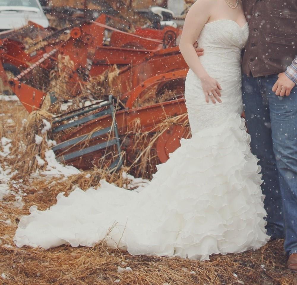 San patrick eresma second hand wedding dress on sale 56 off for Second hand wedding dresses san diego