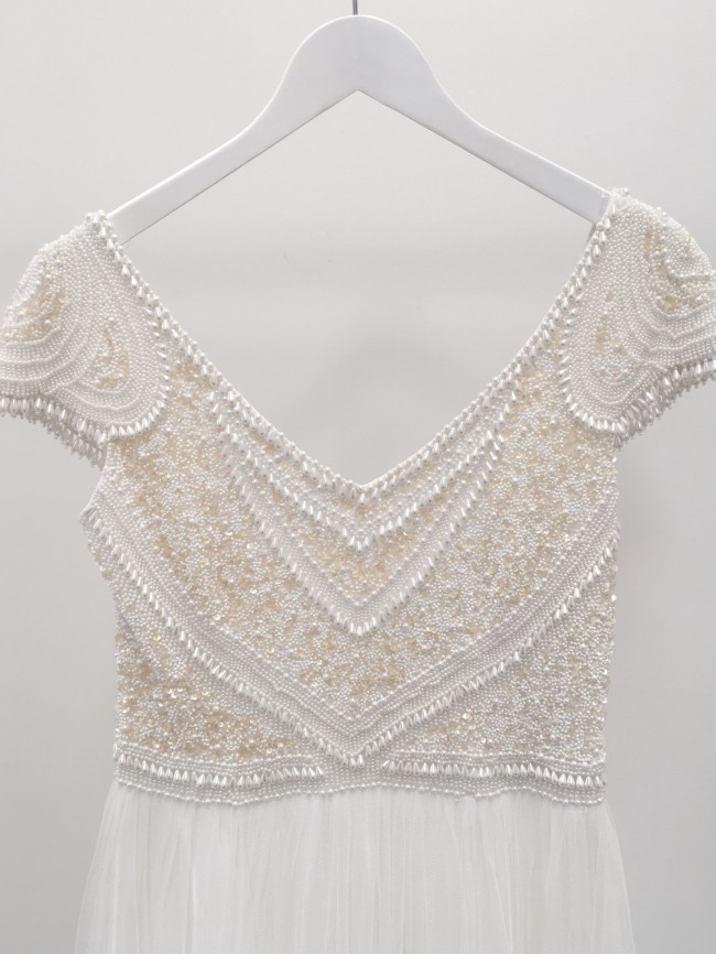 Theia Couture Nima Sample Wedding Dress On Sale 45 Off