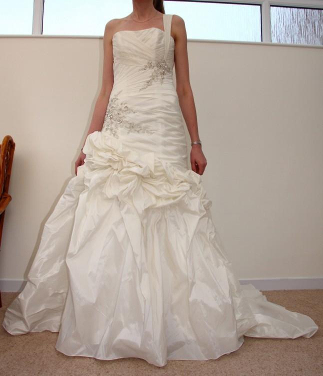 Kay Mason Kmc11 New Wedding Dress On Sale 77% Off