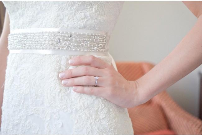 David's Bridal Vw9768 Used Wedding Dress On Sale 40% Off