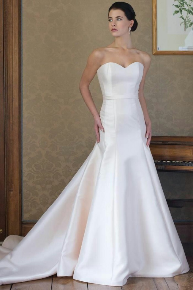 Augusta jones rebecca sample wedding dress on sale 63 off for Augusta jones wedding dresses for sale