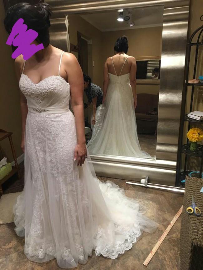 Stella york 6341 wedding dress on sale 38 off for Stella york wedding dresses near me