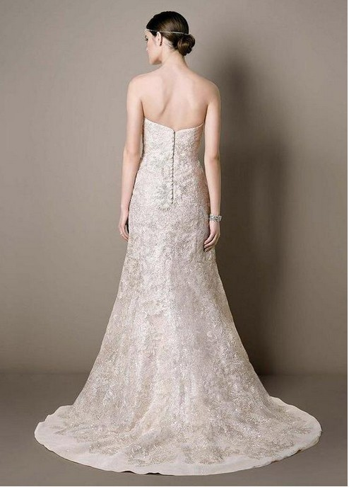 Galina signature swg605 strapless trumpet mermaid wedding for Galina signature wedding dresses