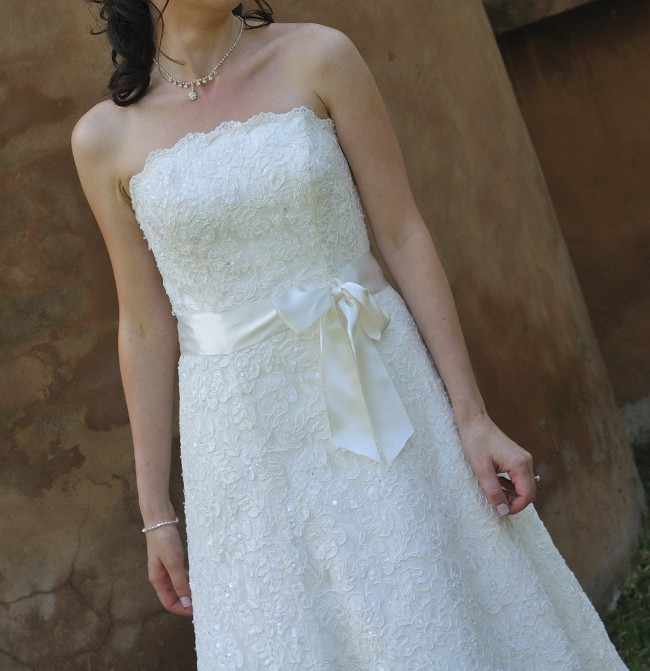 Berketex RNP06023 Used Wedding Dress on Sale 70% Off