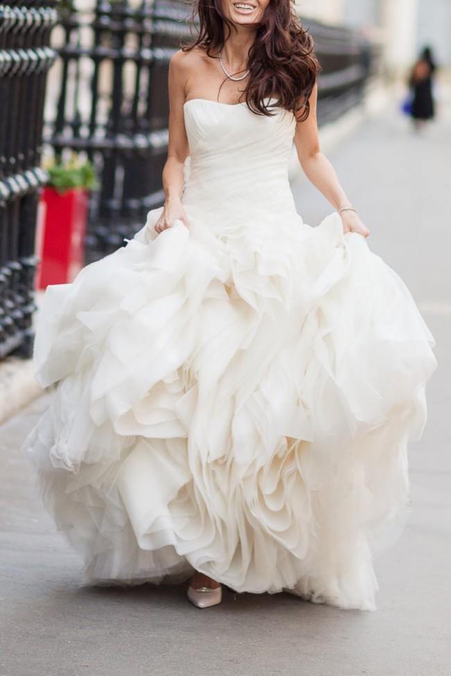 Vera wang diana used wedding dresses stillwhite for Vera wang diana wedding dress